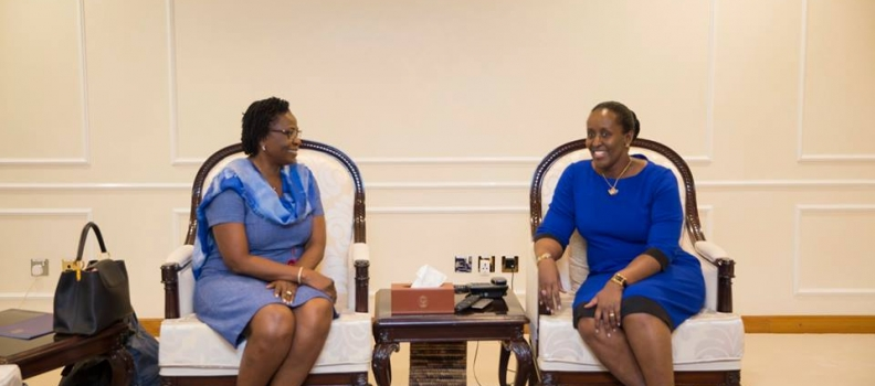 Visite de la Fondation IMBUTO au Rwanda
