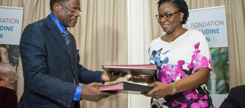 Signature de la convention de partenariat avec Aide & Action