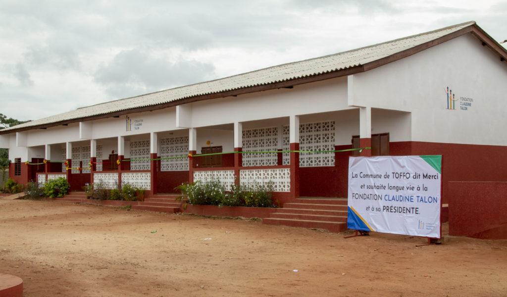 Inauguration de l'école Primaire Publique (EPP) de Koudjinnako_24 septembre 2021_Arnaud (1)