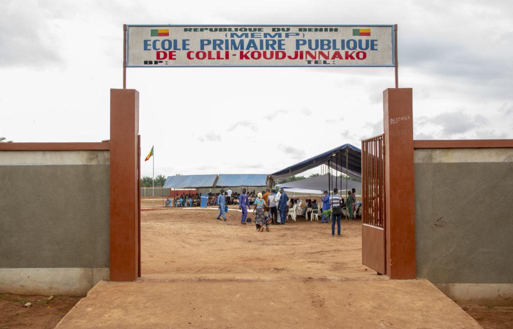 Inauguration de l'école Primaire Publique (EPP) de Koudjinnako_24 septembre 2021_Arnaud (4)